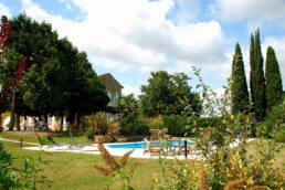 Traditional Charente style with a swimming pool