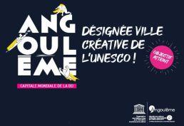 Angoulême, désignée ville créative de l'UNESCO